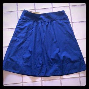J. Crew cotton skirt